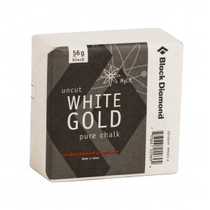Black Diamond Solid White Gold Block 56gr.-20