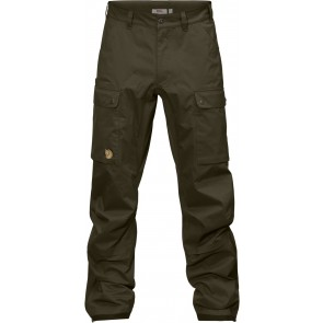 FjallRaven Varmland Eco-Shell Trousers Dark Olive-20