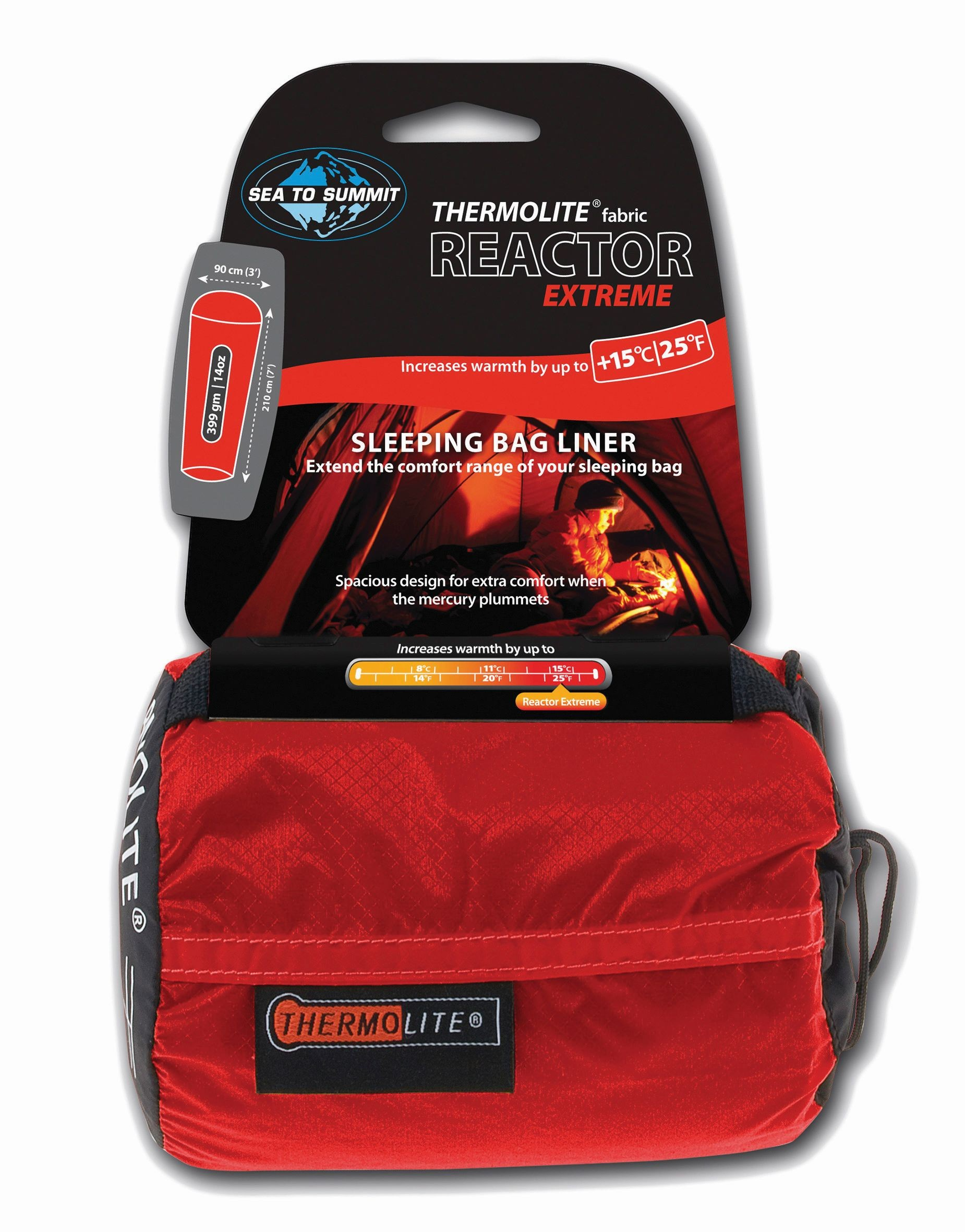 Sea To Summit Reactor Extreme - Thermolite® Mummy Liner
