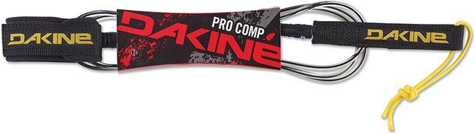 "Dakine Kai Procom 6'X 3/16"" Black / Clear-30"