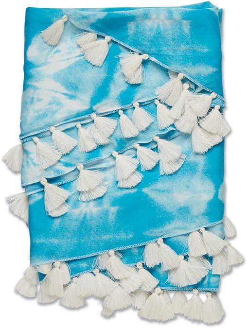 Dakine Mana Beach Sarong Maui Blue Tie Dye-30