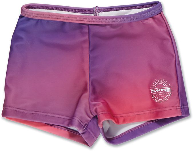 Dakine Girls Toddler Swim Short Pink Sunset-30