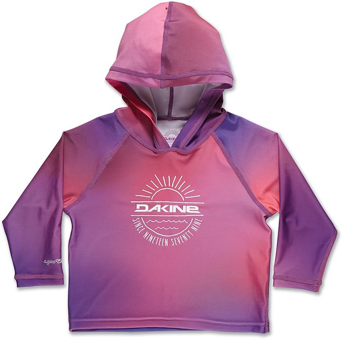 Dakine Girls Toddler Hoodie Pink Sunset-30