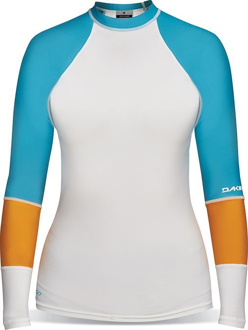 Dakine Flow Snug Fit Longsleeves White-30