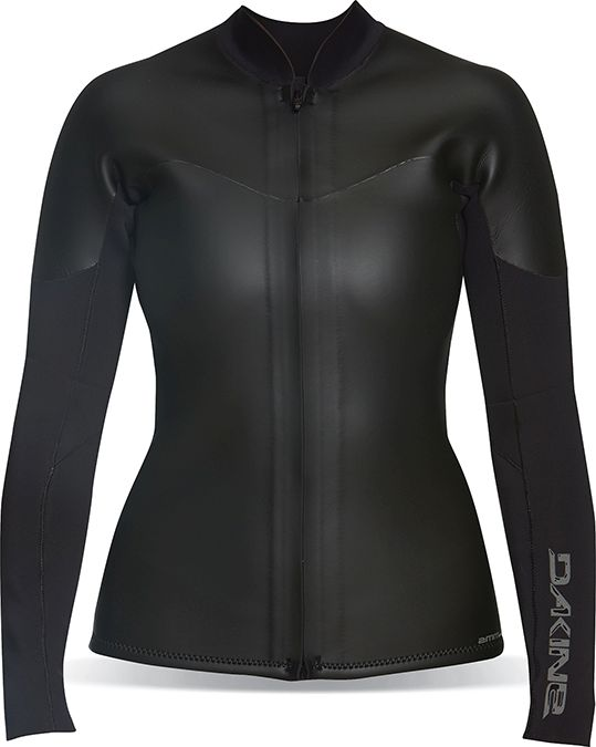 Dakine Womens 2mm Neo Jacket Longsleeves Black-30