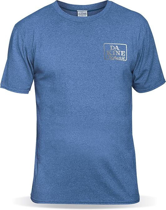 Dakine Roots Loose Fit Shortsleeves Blue Heather-30