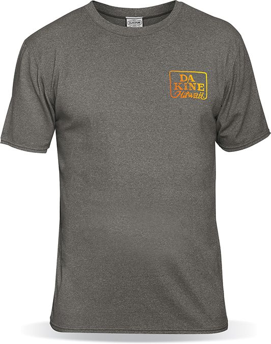 Dakine Roots Loose Fit Shortsleeves Charcoal Heather-30
