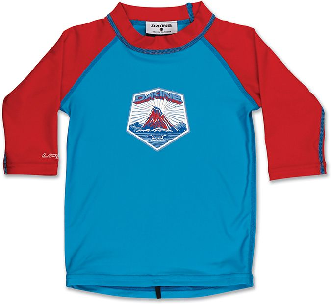 Dakine Toddler 3/4 Sleeve Neon Blue-30