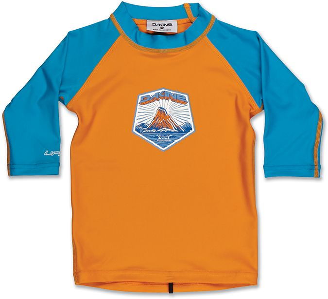 Dakine Toddler 3/4 Sleeve Orange Ochre-30