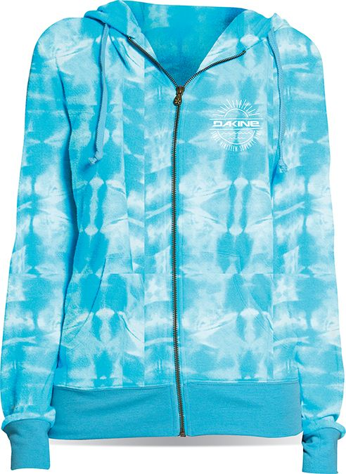 Dakine Go-To Zip Hoodie Maui Blue-30