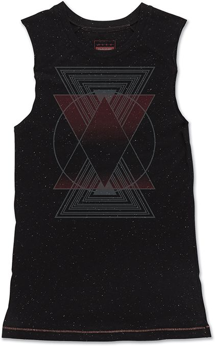 Dakine Prism Muscle Tank Black Speckle-30