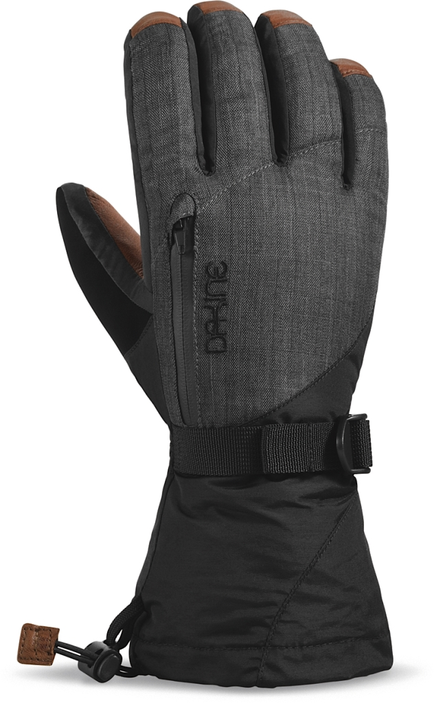 Dakine Leather Sequoia Glove Charcoal-30