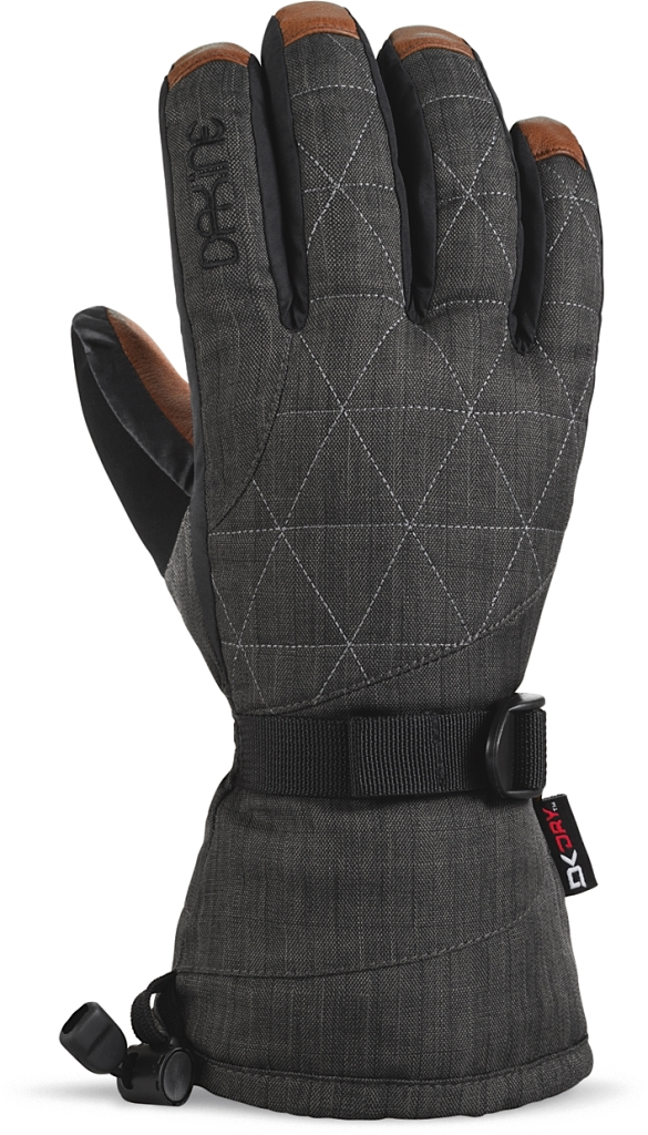 Dakine Leather Camino Glove Charcoal-30