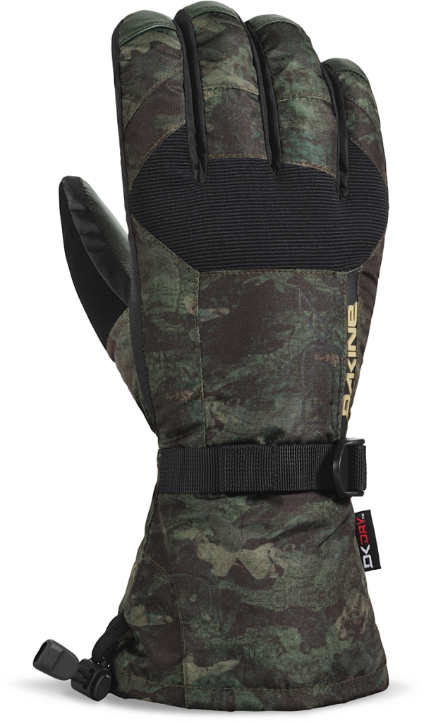 Dakine Leather Scout Glove Peat Camo-30