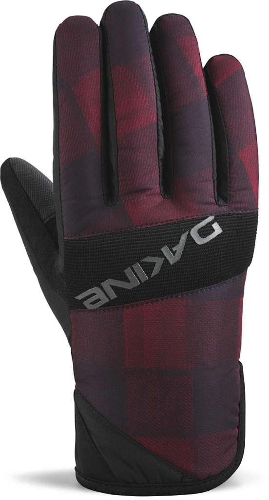 Dakine Crossfire Glove Red Check-30