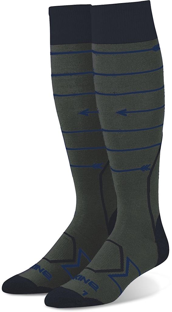 Dakine Mens Thinline Sock Charcoal-30