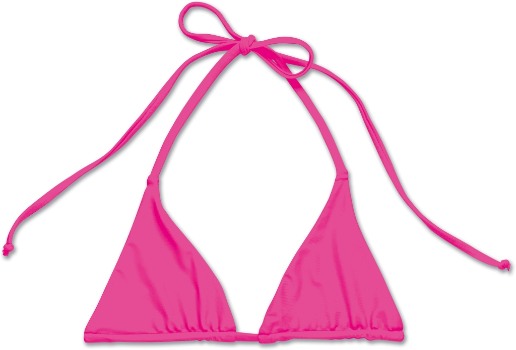 Dakine Kahoni Reversible Triangle Pink Flamingo-30