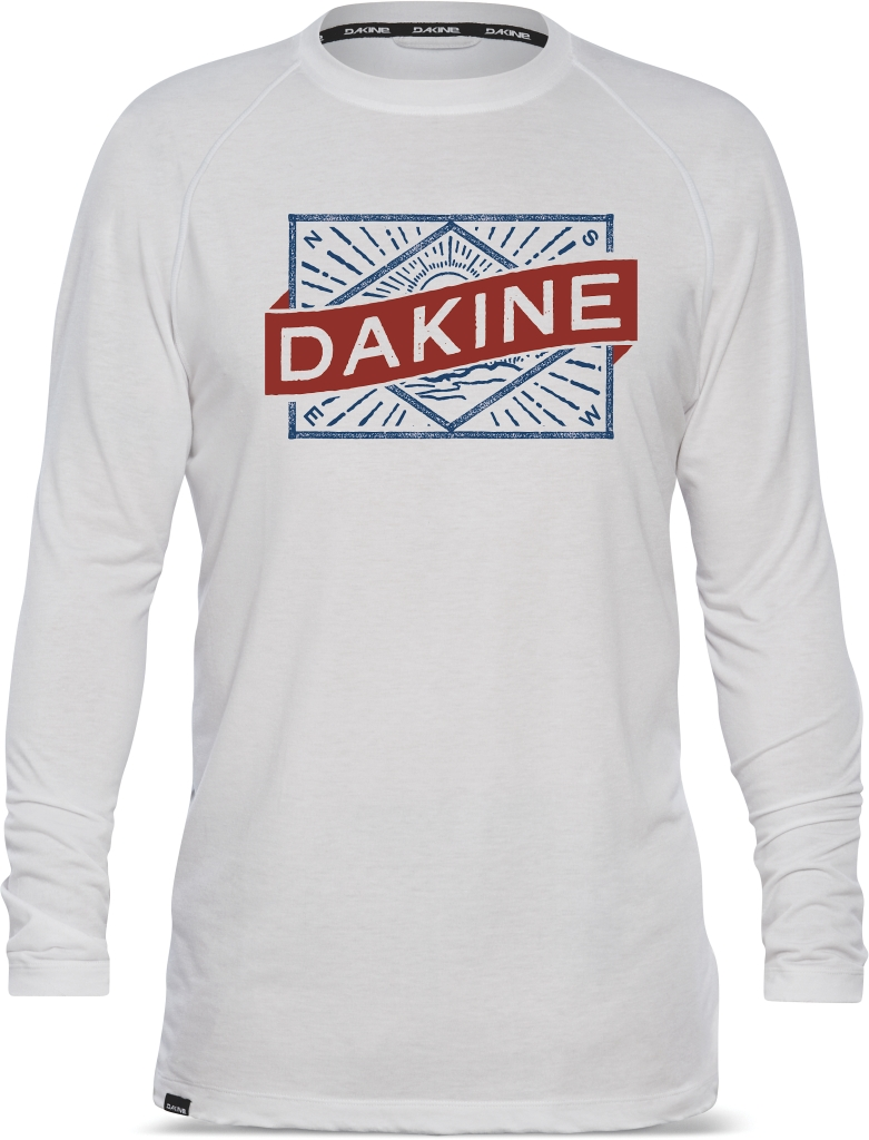 Dakine Ls Tech Tee White Label-30