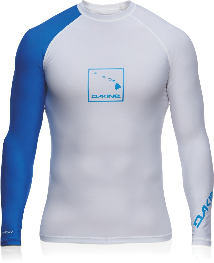 Dakine Mens Dna L/S (SNUG) White-30