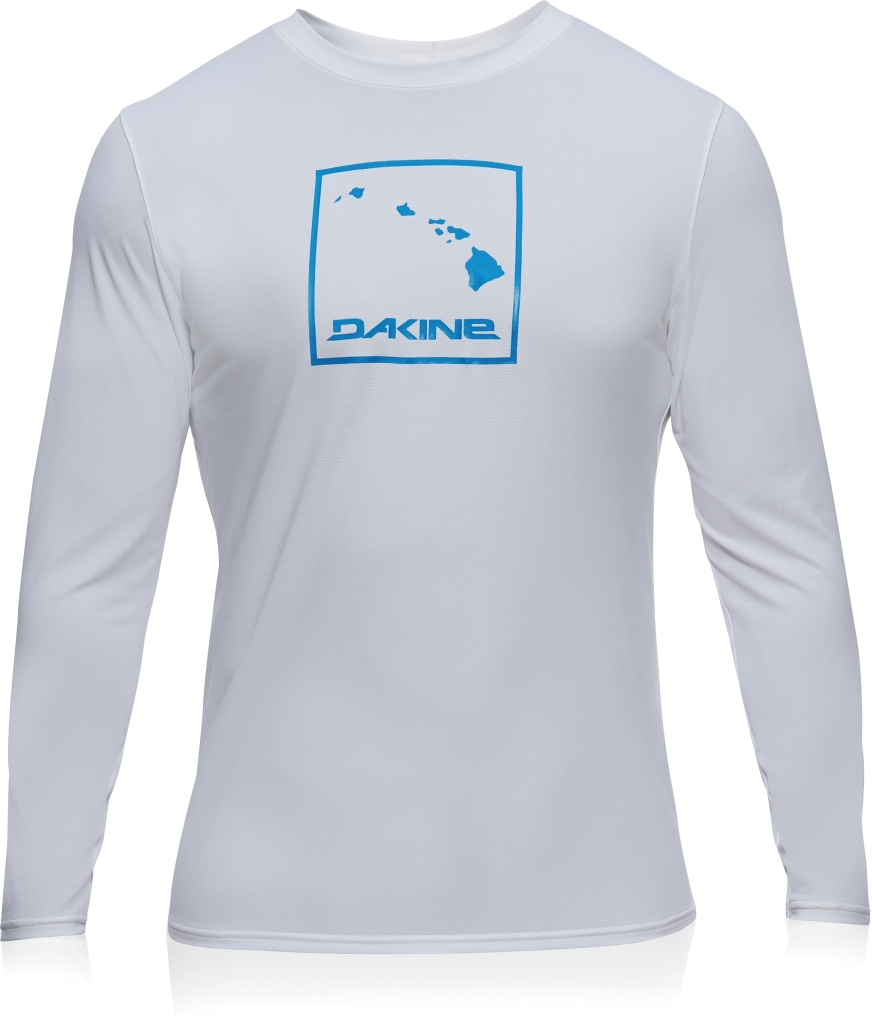 Dakine Mens H2o-Man L/S (LOOSE) White-30