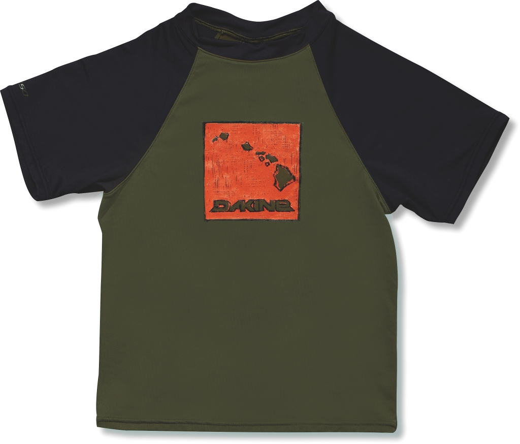 Dakine Boys S/S (LOOSE) Army-30