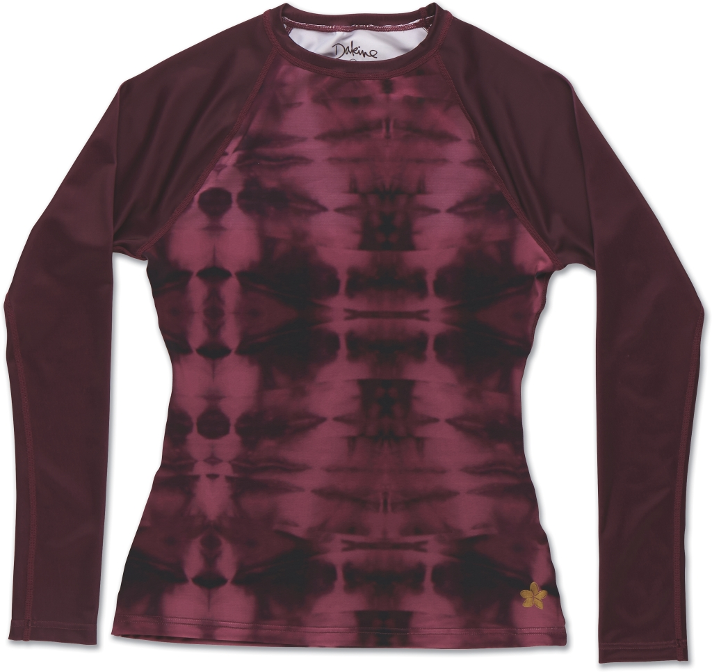 Dakine Maira LS Rashguard Purple Tie Dye-30
