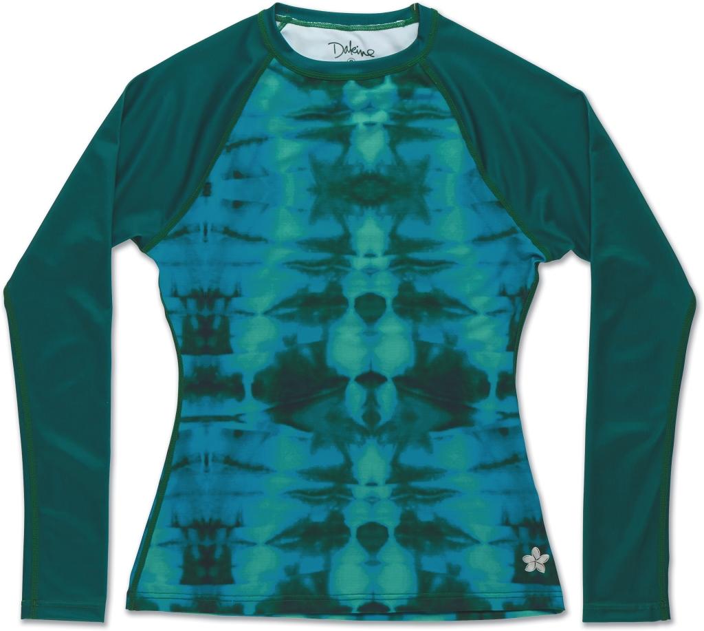 Dakine Maira LS Rashguard Seaweed Tie Dye-30