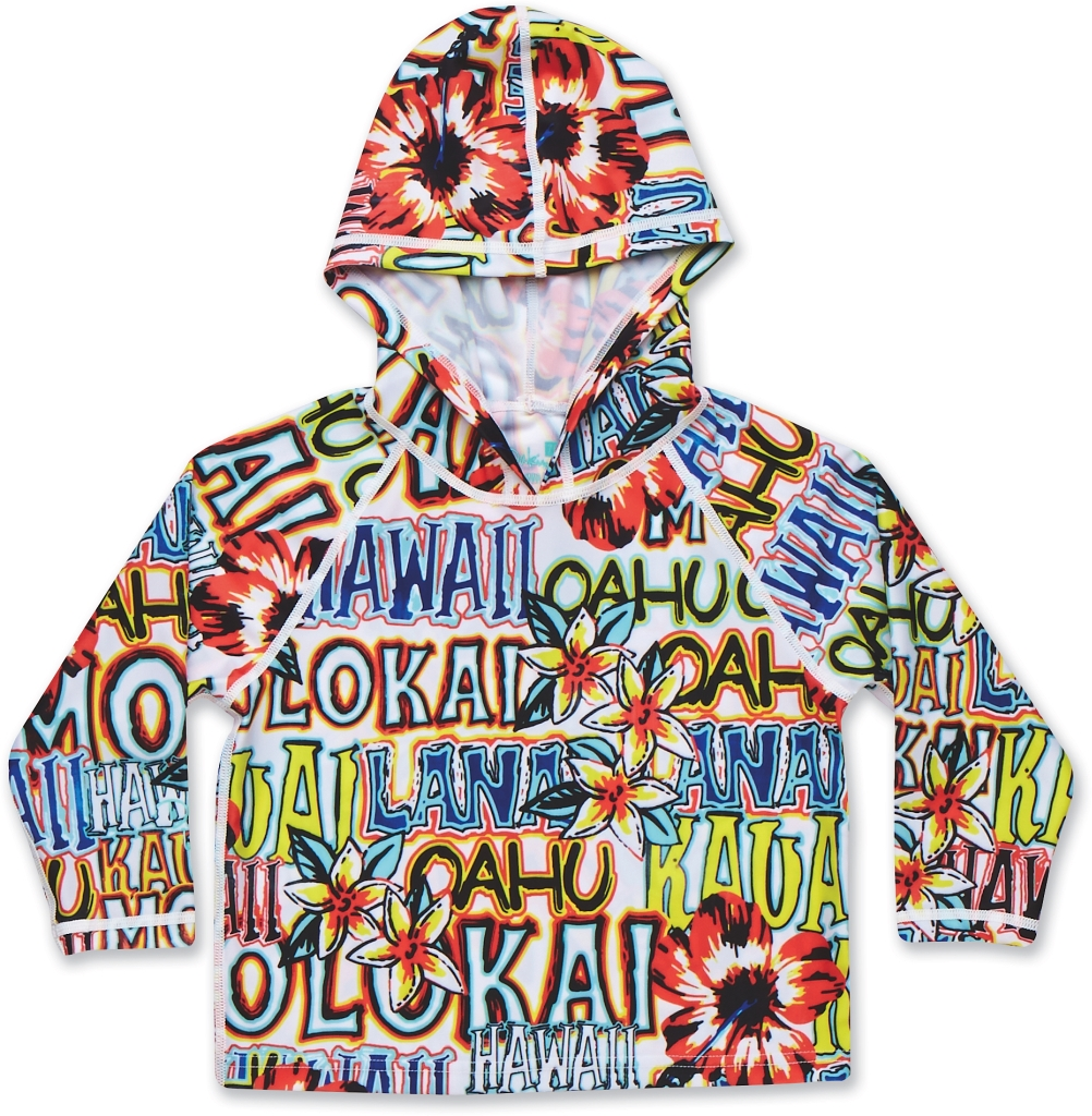 Dakine Girls Toddler Hoodie Tropic Isle-30