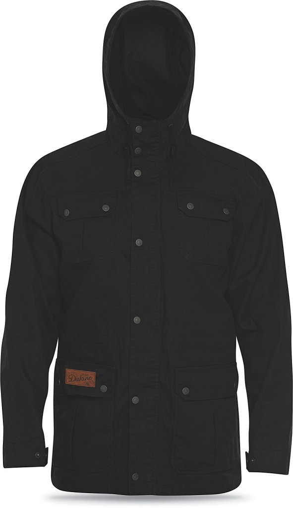 Dakine Mens Baxter Waxed Canvas Jacket Black-30
