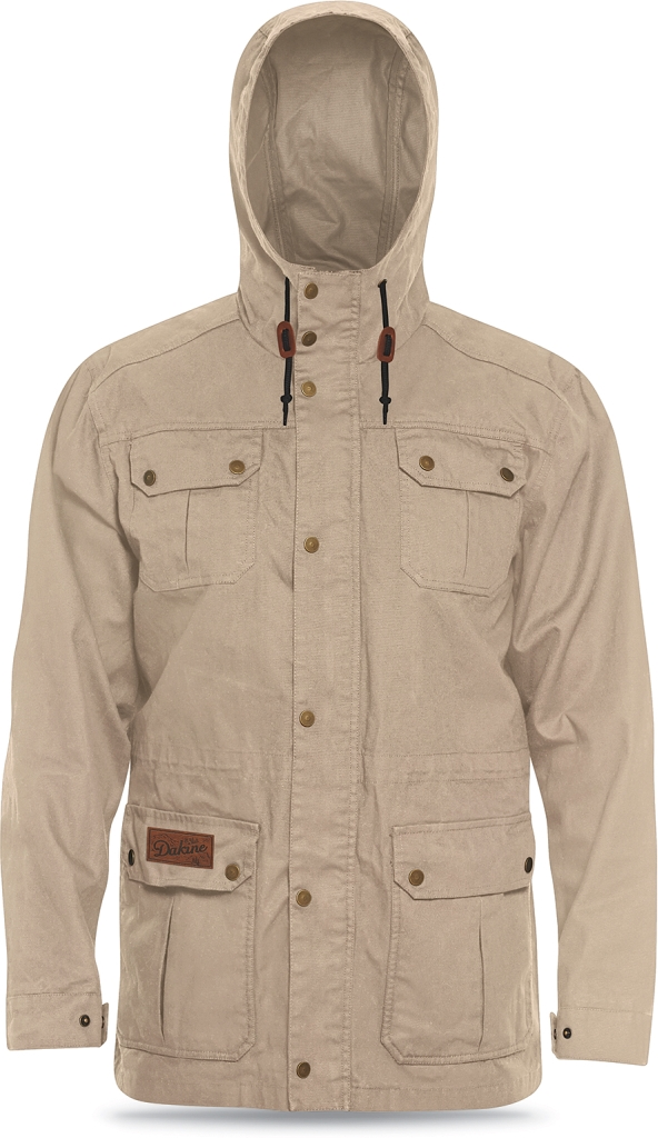 Dakine Mens Baxter Waxed Canvas Jacket Dune-30