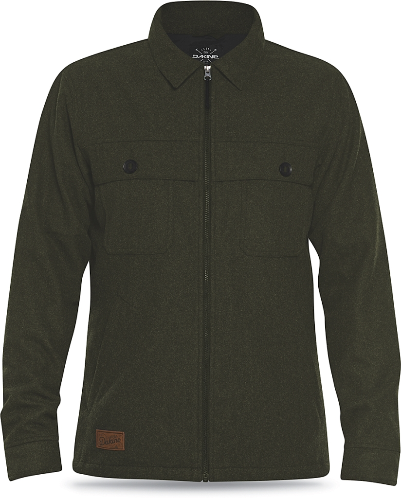 Dakine Mens Davis Wool Jacket Jungle-30