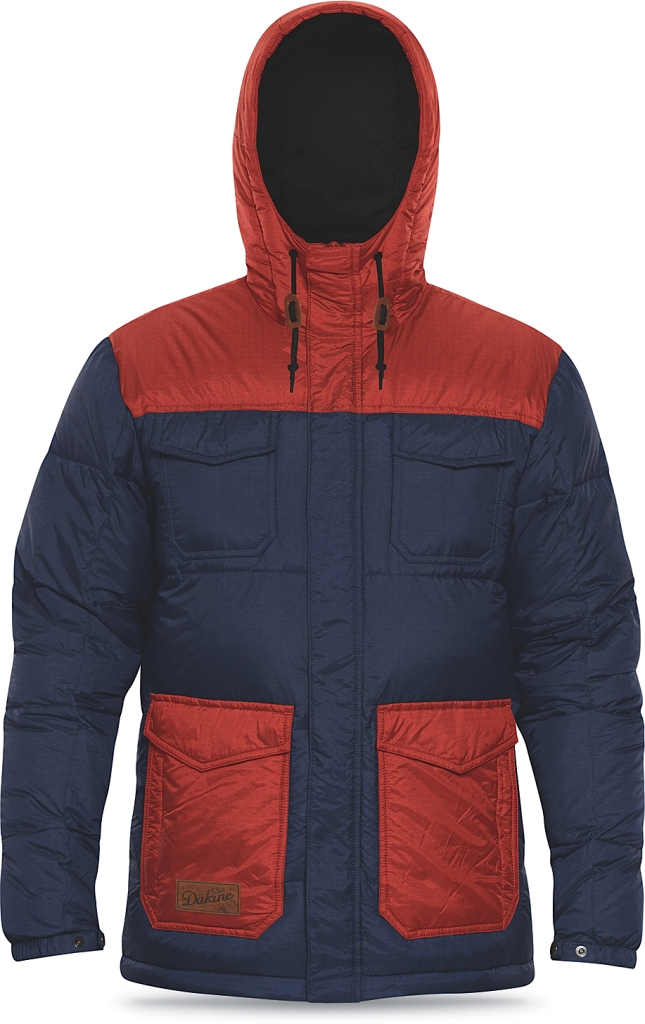Dakine Mens Fremont Down Jacket Midnight / Brick-30