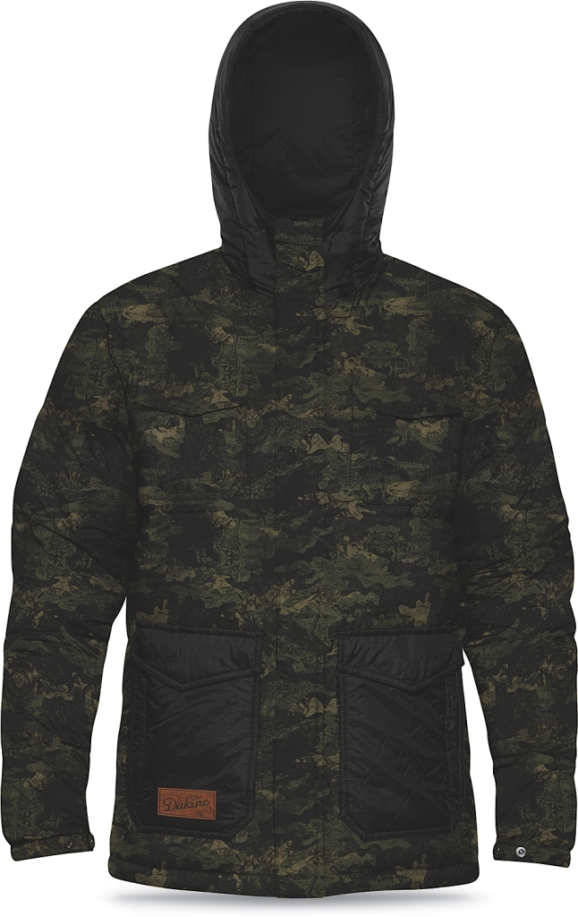 Dakine Mens Fremont Down Jacket Peat Camo-30