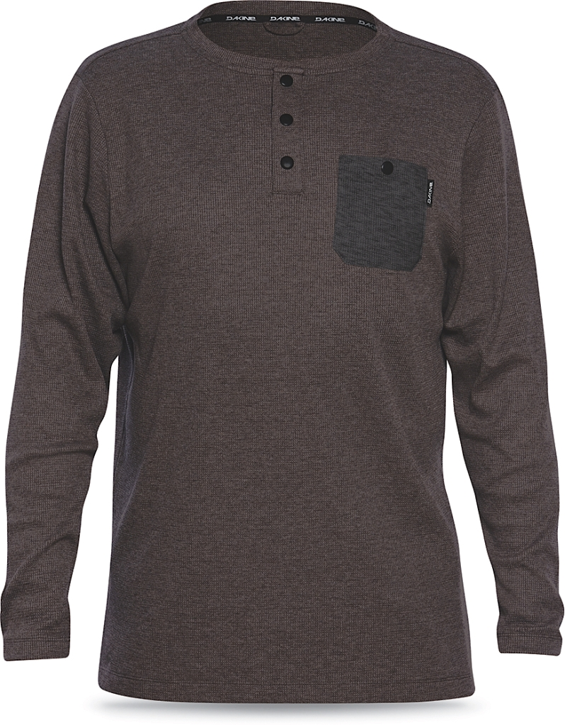 Dakine Mill Henley Coffee-30