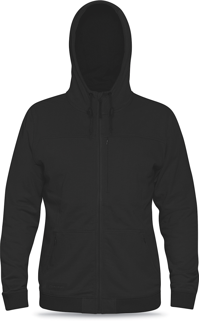 Dakine Mens Pinion Tech Hoodie Heathered Black-30