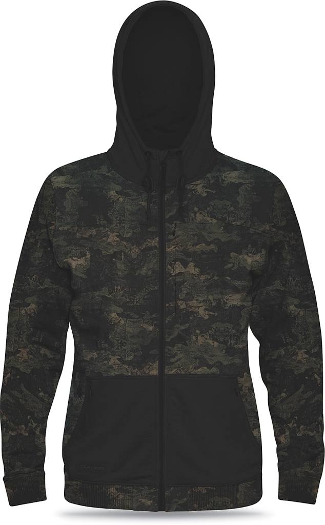 Dakine Mens Pinion Tech Hoodie Heathered Peat Camo-30