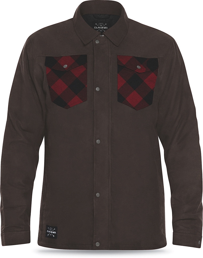 Dakine Mens Richmond Flannel Jacket Coffee-30