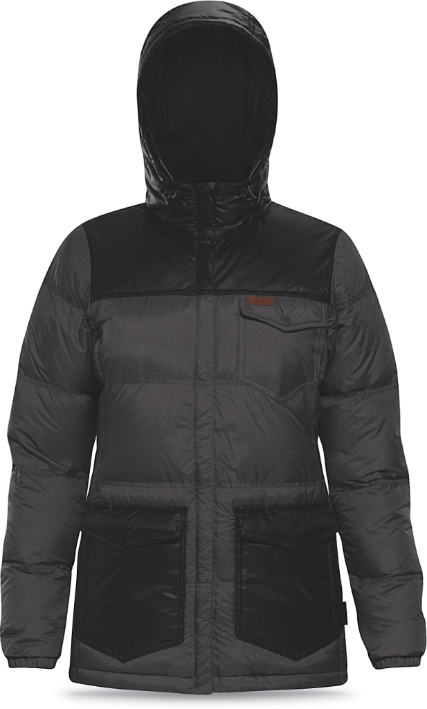 Dakine Womens Lolo Down Jacket Shadow / Black-30
