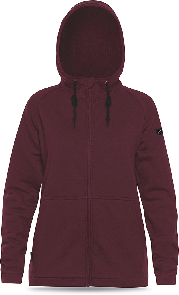 Dakine Womens Lupin Tech Hoodie Heathered Rosewood-30