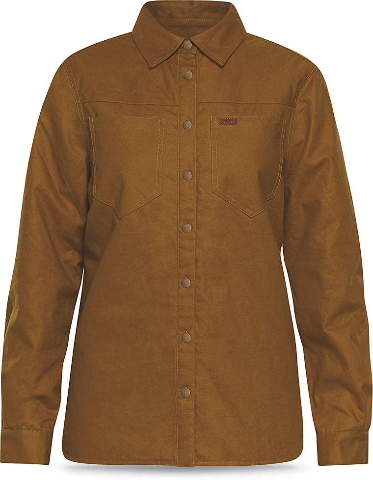 Dakine Womens Westridge Flannel Jacket Buckskin-30