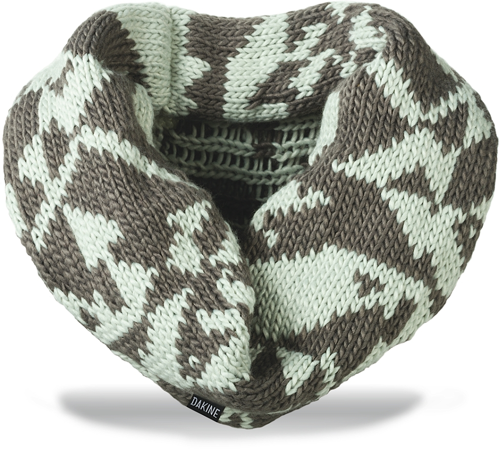Dakine Ginger Cowl Scarf Grey Mix-30