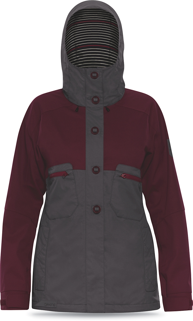 Dakine Womens Northlands Jacket Shadow / Rosewood-30