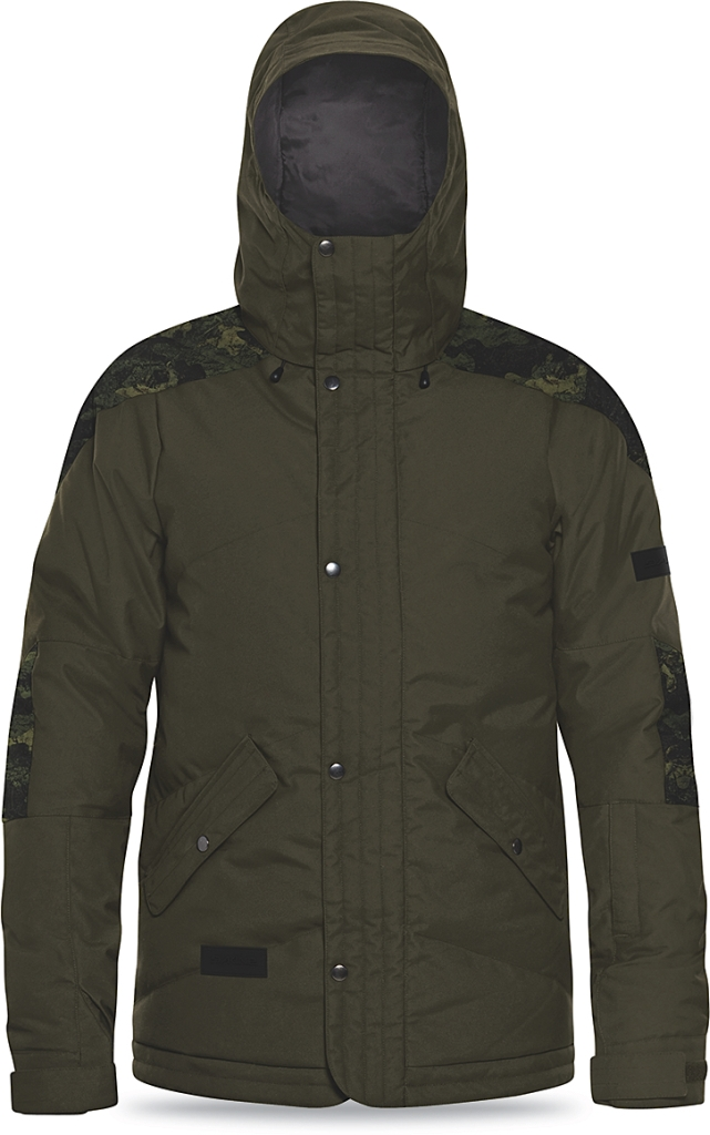 Dakine Mens Six-Fifty Down Jacket Jungle / Peat Camo-30