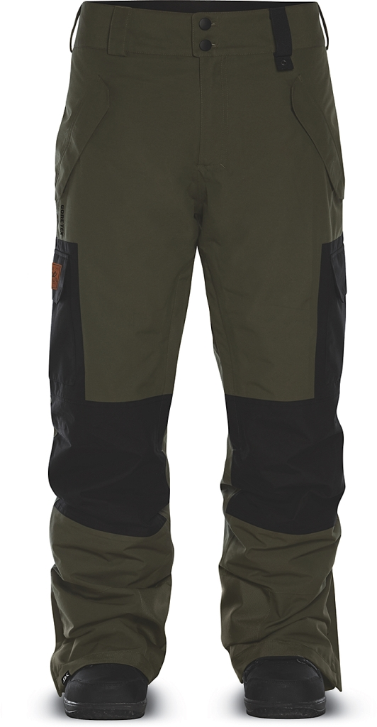 Dakine Mens Woodland Full Cargo Pant Jungle / Black-30