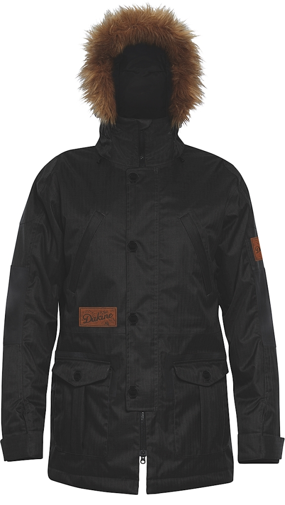 Dakine Mens Westland Jacket Black / Smoke-30