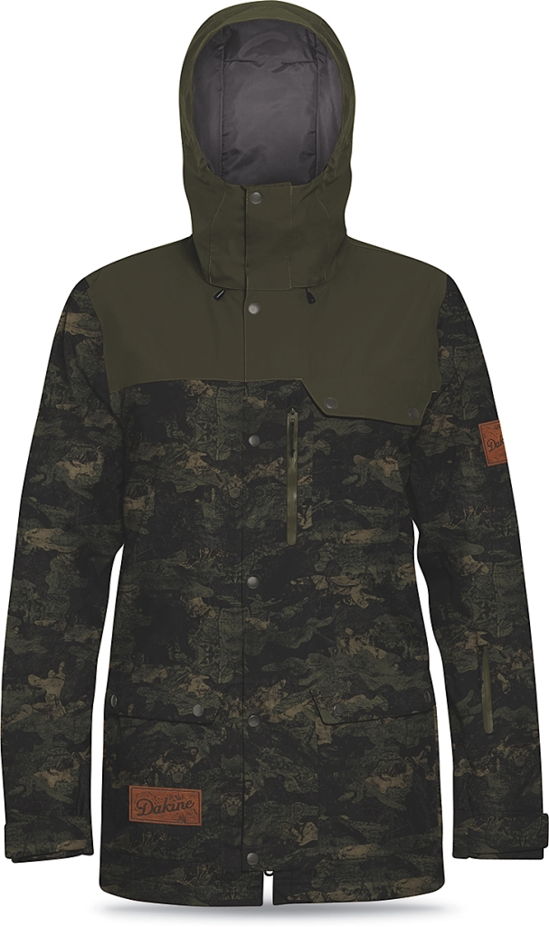 Dakine Mens Wyeast Jacket Peat Camo / Jungle-30
