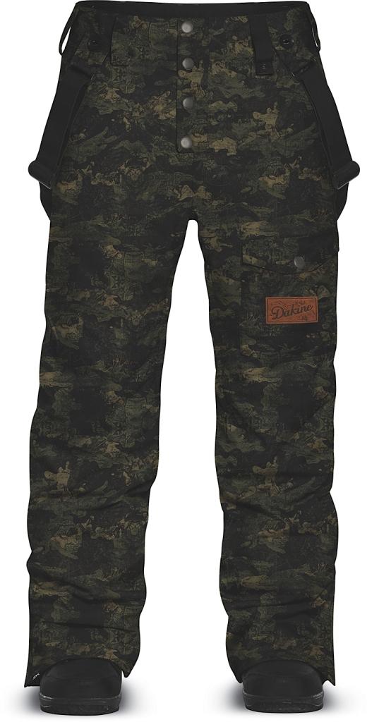 Dakine Mens Belleville Pant Peat Camo-30