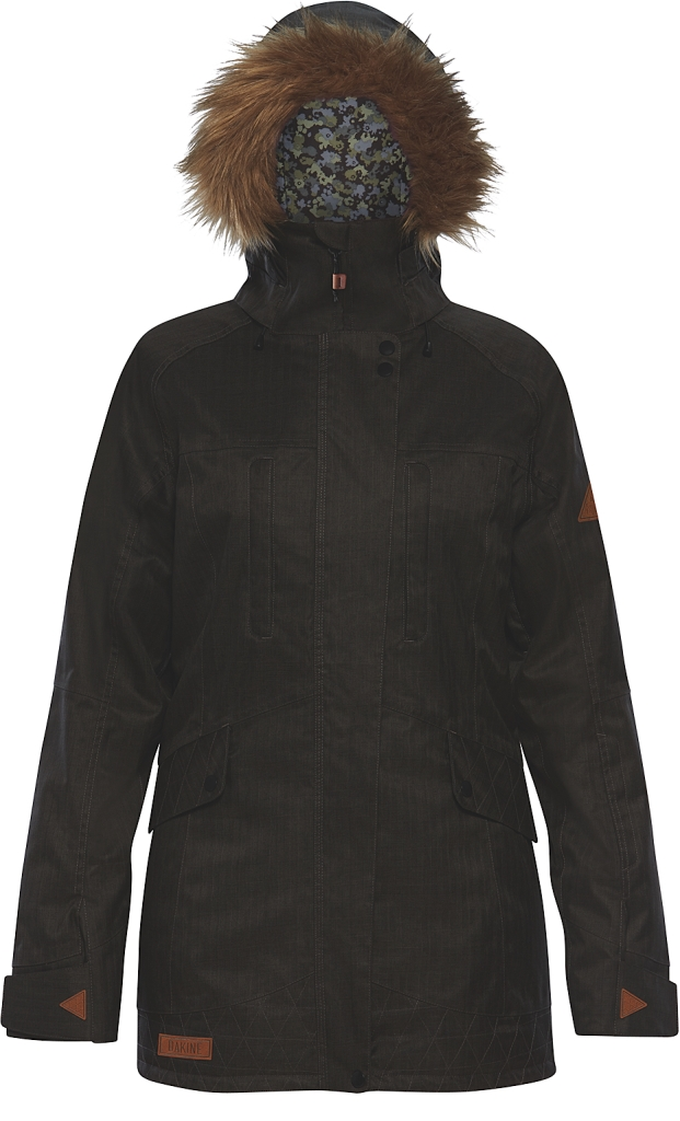 Dakine Womens Brentwood Jacket Grey Suiting-30