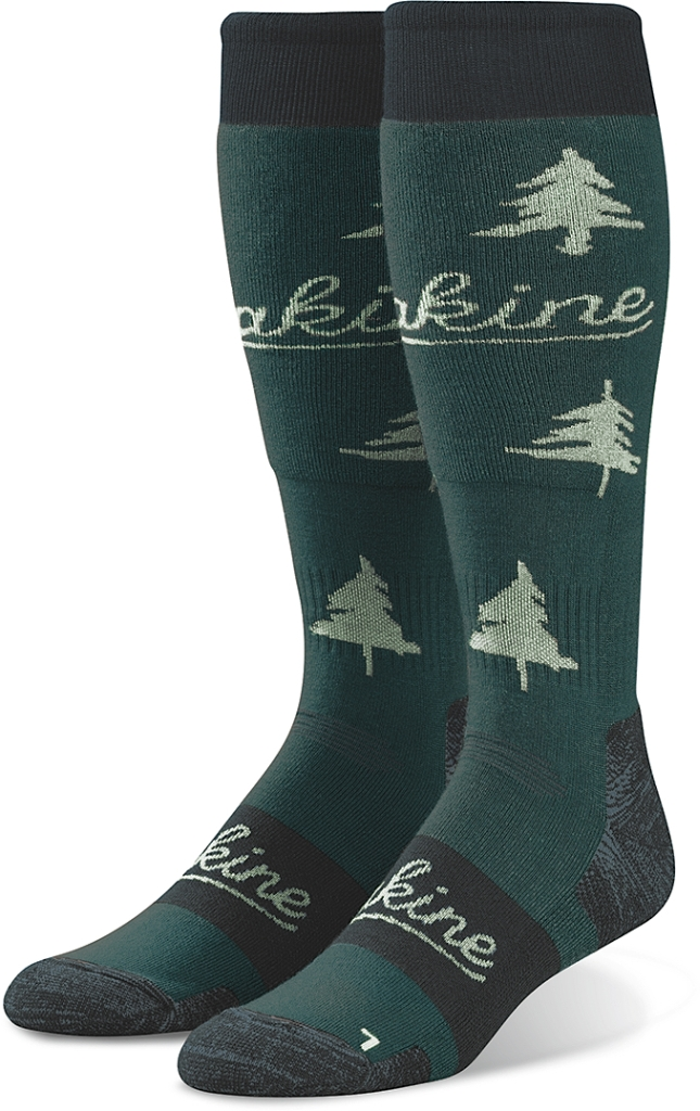 Dakine Womens Freeride Sock Teal Shadow-30