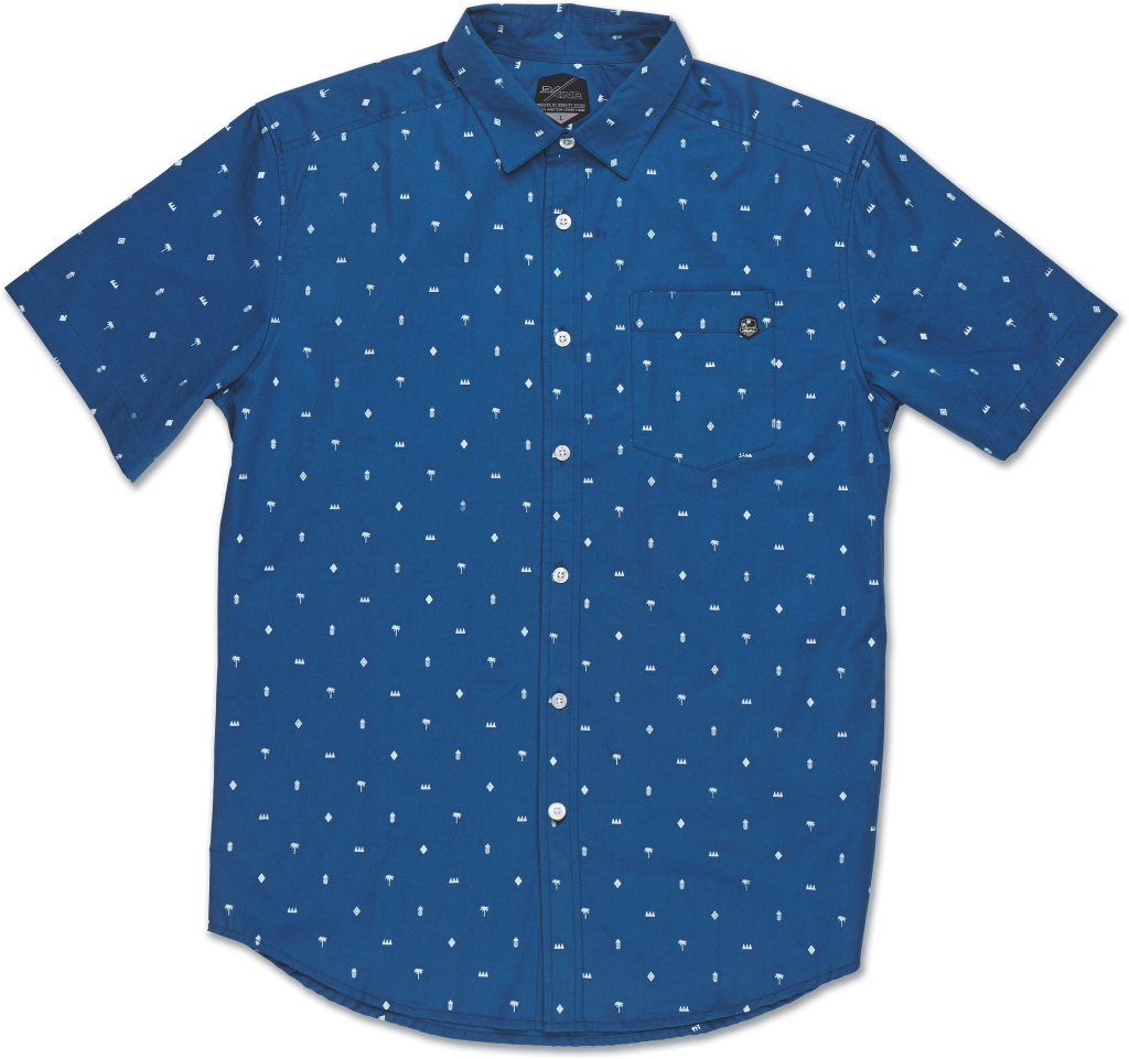 Dakine Backyard Short Sleeve Blue-30